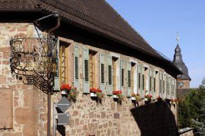 """Winzergaststaette """"Grafen von der Leyen"""" in Burrweiler"""