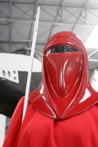 Star Wars imperiale Leibwache im roten Kostüm