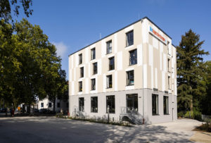 Modernisierte und erweiterte Jugendherberge Speyer