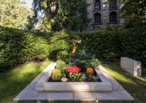 Grab von Bundskanler Helmut Kohl in Speyer