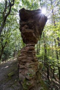 Felsformation im Pfälzer Wald