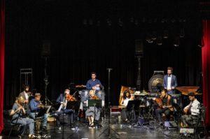 Ensemble Colourage auf der Bühne