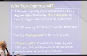 Prof. Dr. Stephan Borrmann erklärt das 2-Grad-Ziel